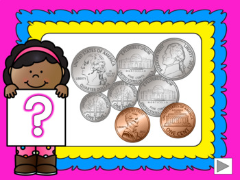 Money Math – Counting Coins Set 3 – Pennies, Nickels, Dimes and Quarters