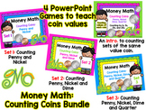 Money Math – Counting Coins Bundle