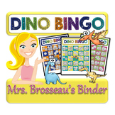 Money Math - DINOSAUR Adding Coins Bingo Cards - 30 Unique Cards!