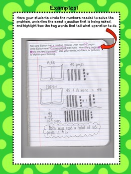 Money Math Journal Prompts