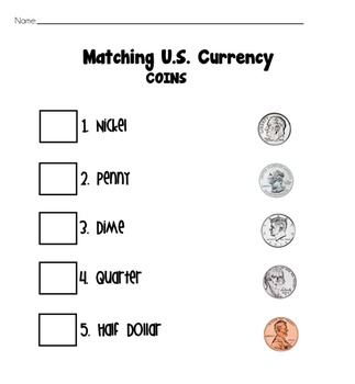 Money Math [Matching Currency]