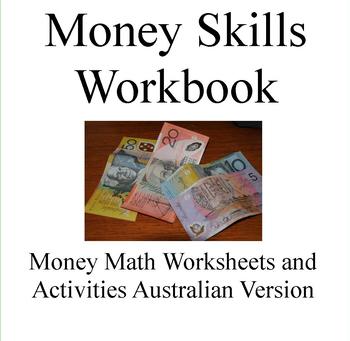 Money Math Skills Workbook -Australian version by Debbie Madson | TpT