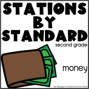 Money Math Stations Second Grade