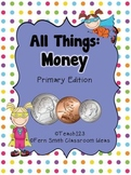 Money Math and Literacy Center Games