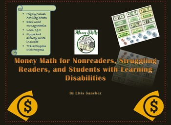 Money Math for Nonreaders, Struggling Readers, and Students with  SLD