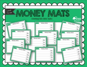 Touch Point Money Mats Bundle {All 3 Levels}