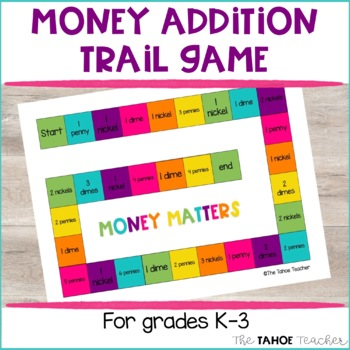 Money Addition Trail Game