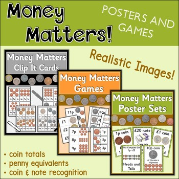 Money Matters Bundle {UK Teaching Resource}