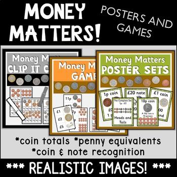 Money Matters Bundle {UK Teaching Resource}