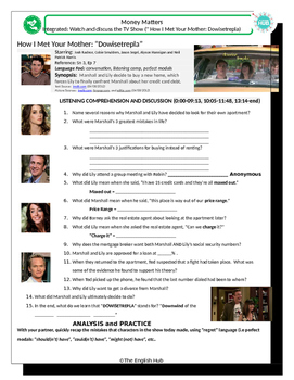 """Money Matters (A): Buying a home with """"How I Met Your Mother""""(Dowisetrepla)"""