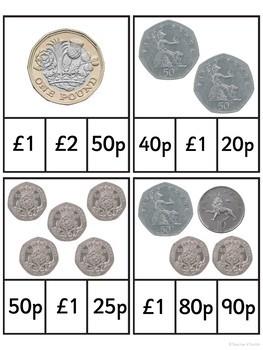 Money Matters Clip It Cards {UK Teaching Resource}