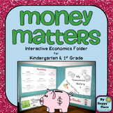 Economics Unit for Kindergarten and First Grade