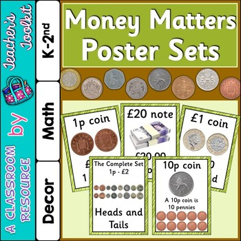 Money Matters Poster Sets {UK Teaching Resource}