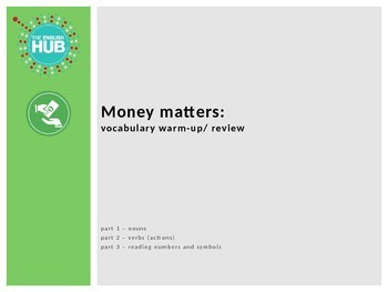 Money Matters_Warm-up and Review slideshow