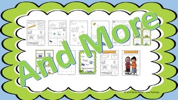 Money, Measurement, and Place Value, Math Bundle for K-2nd