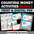 Money BUNDLE of Activities & Games for 1st 2nd 3rd Grade Math