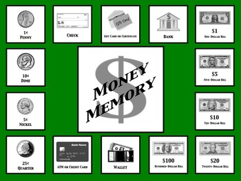 Money Memory (Concentration)