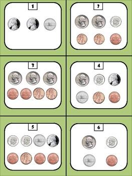 Money Memory Game - Basic Coins