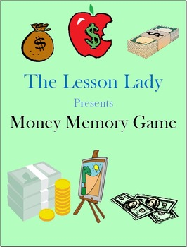 Money Memory Game - Perfect for Centers and More!