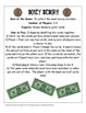 Money Memory! Math Center Game Using US Bills and Coins