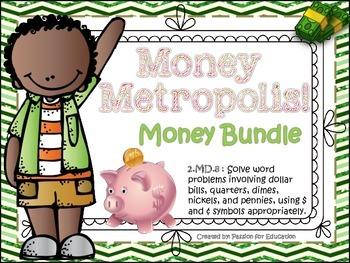 Money Metropolis MEGA BUNDLE! (Common Core Aligned Money Games)