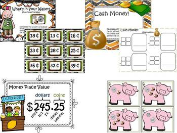 Money Metropolis Smart Board Mega Bundle (Common Core Aligned)