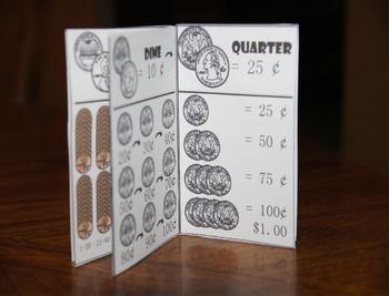 Money Mini Book (Teaching Kids about Money)