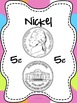 Money Mini Unit!  Coin signs, identification activities and song!