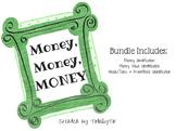 Money, Money, MONEY! $$$ Money Identification Practice Sheets
