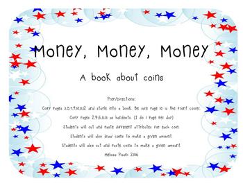 Money, Money, Money- A book about coins