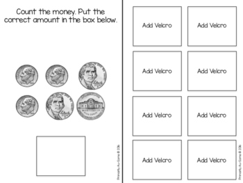 Money, Money, Money! (Adapted Book for Adding Like and Mixed Coins)