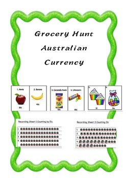 Money Money Money Grocery Hunt
