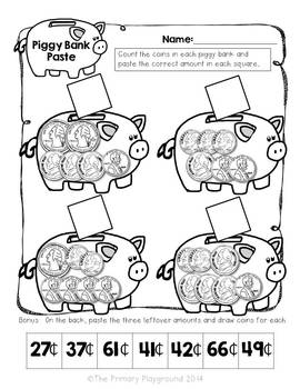 Money, Money, Money!  Second Grade Common Core Money Activities and Centers