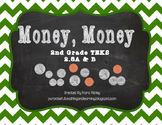 Money. Money Task Cards {2nd Grade TEKS 2.5A & B}