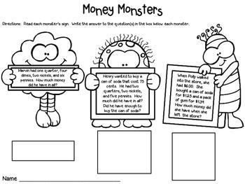Money Craftivity