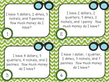 Money Mysteries (Common Core aligned)