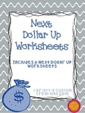 Money: Next Dollar Up Worksheets