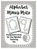 Money - Nickel -  Manipulative Mats Upper & Lower Case Let