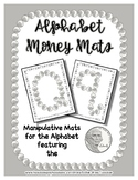 Money - Nickel -  Manipulative Mats Upper & Lower Case Let