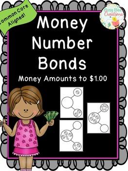 Money Number Bonds - Money Amounts to $1.00