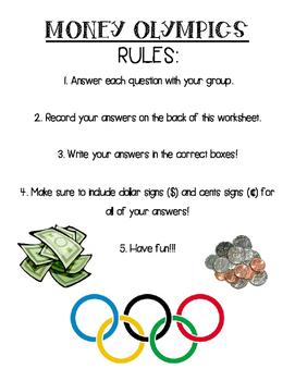 Money Olympics!