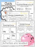 Leveled Money Packet (coin identification and problem solving)