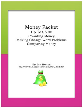 Money Packet Up To $5.00