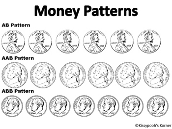 Money Pattern Worksheet