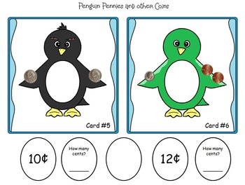 Penguins and Pennies:  Money and Coin Math
