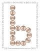 Money - Penny -  Manipulative Mats Upper & Lower Case Letters  Fine Motor Work