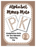 Money - Penny -  Manipulative Mats Upper & Lower Case Lett