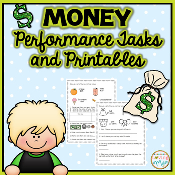 Money Performance Tasks