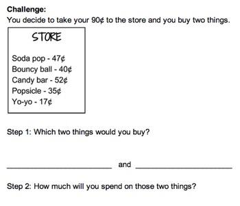 Money Performance Tasks (2.MD.8)