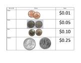 Money Place Value Chart